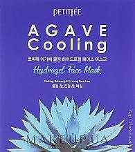 Parfumuri și produse cosmetice Mască hydrogel cu extract de agava și efect revigorant - Petitfee&Koelf Agave Cooling Hydrogel Face Mask