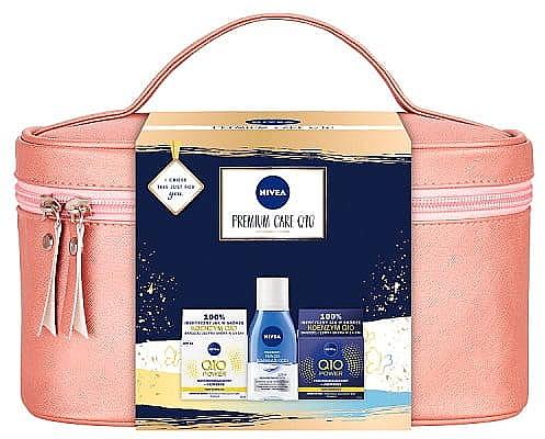 Set - Nivea XMax Premium Care Q10 (day/cr/50ml+night/cr/50ml+remover/125ml+bag)