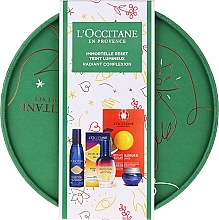 Parfumuri și produse cosmetice Set - L'Occitane Immortelle (oil/serum/30ml + cr/8ml + water/30ml + scr/6ml)
