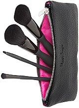 Parfumuri și produse cosmetice Set pensule pentru machiaj, 4 bucăți - Peggy Sage Set
