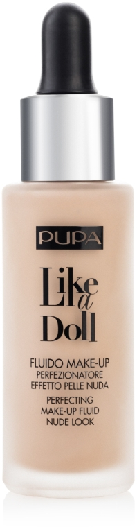 Fond de ten lichid - Pupa Like a Doll Perfecting Make-up Fluid Nude Look