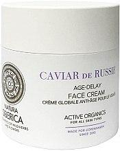 """Parfumuri și produse cosmetice Cremă de față """"Extinderea tinereții"""" - Natura Siberica Copenhagen Caviar de Russie Age Delay Face Cream"""