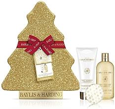 Parfumuri și produse cosmetice Set - Baylis & Harding Sweet Mandarin & Grapefruit (sh/cream/300ml + b/lot/200ml + b/fizzer/140g)