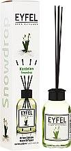 """Parfumuri și produse cosmetice Difuzor de aromă """"Lăcrămioară"""" - Eyfel Perfume Reed Diffuser Snowdrop"""