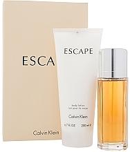 Parfumuri și produse cosmetice Calvin Klein Escape For Women - Set (edp/100ml + b/lot/200ml)