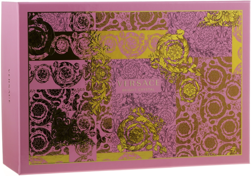 Versace Bright Crystal - Set (edt/90ml + edt/10ml + pounch)  — Imagine N1