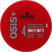 Духи, Парфюмерия, косметика Ультрасильный матирующий крем для волос - Schwarzkopf Professional Osis+ Mighty Matte Cream