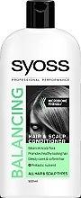 Parfumuri și produse cosmetice Balsam pentru toate tipurile de păr și scalp - Syoss Balancing