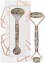 Parfumuri și produse cosmetice Rolă pentru masaj facial - Crystallove Dalmatian Jasper Roller