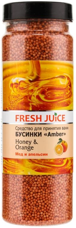 Bile pentru baie - Fresh Juice Bath Bijou Amber Honey and Orange