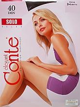 """Parfumuri și produse cosmetice Colanți """"Solo"""" 40 Den, mocca - Conte"""