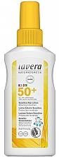 Parfumuri și produse cosmetice Spray de protecție solară pentru copii - Lavera Kids Sensitive Sun Spray SPF 50