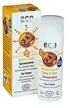 Parfumuri și produse cosmetice Cremă cu protecție solară pentru copii SPF 45 - Eco Cosmetics Baby Sun Cream SPF 45