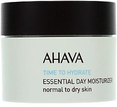 Parfumuri și produse cosmetice Cremă hidratantă de față, pentru pielea normală până la uscată - Ahava Time To Hydrate Essential Day Moisturizer Normal to Dry Skin