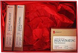 Parfumuri și produse cosmetice Set - Phenome Sustainable Science (f/paste/10ml + mask/10ml + cr/50ml)