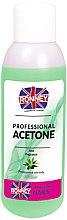 """Parfumuri și produse cosmetice Soluție pentru îndepărtarea ojei """"Aloe"""" - Ronney Professional Acetone Aloe"""