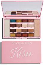 Farduri pentru pleoape - Makeup Revolution x Kisu Eyeshadow Palette — Imagine N2