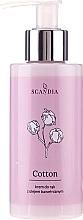 Parfumuri și produse cosmetice Cremă cu ulei de semințe de bumbac pentru mâini - Scandia Cosmetics Cotton Hand Cream