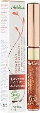 Parfumuri și produse cosmetice Luciu și balsam de buze nutritiv 2 în 1 - Melvita L'Or Bio