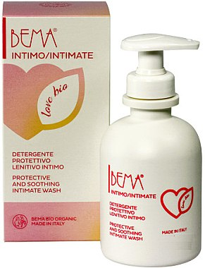 Gel pentru igiena intimă - Bema Cosmetici Bema Love Bio Protective and Soothing Intimate Wash — Imagine N1