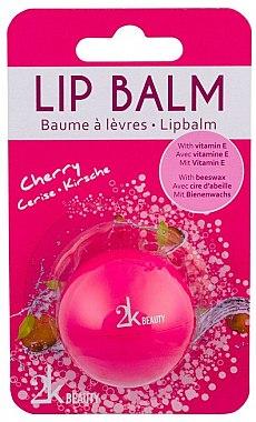 "Balsam de buze ""Vișini"" - Cosmetic 2K Lip Balm — Imagine N1"