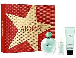 Parfumuri și produse cosmetice Giorgio Armani Acqua di Gioia - Set (edp/100ml + b/lot/75ml + edp/15ml)