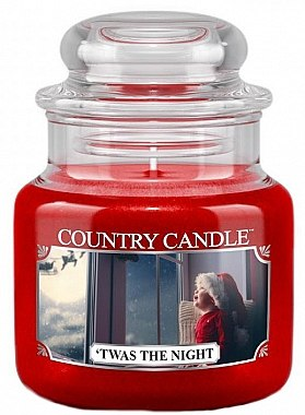 Lumânare parfumată (borcan) - Country Candle Twas The Night — Imagine N1