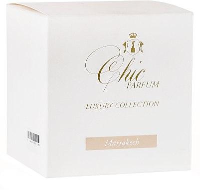 Lumânare parfumată - Chic Parfum Luxury Collection Marrakech Candle — Imagine N4