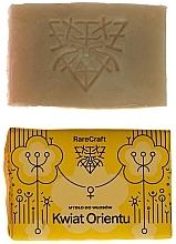 """Parfumuri și produse cosmetice Șampon solid """"Floare orientală"""" - RareCraft"""