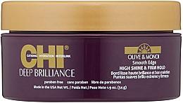 Parfumuri și produse cosmetice Cremă pentru arajarea părului  - CHI Deep Brilliance Olive & Monoi Smooth Edge High Shine & Firm Hold
