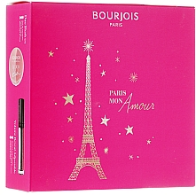 Parfumuri și produse cosmetice Set - Bourjois (mascara/8ml+sculpting/2.5g)