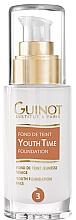 Parfumuri și produse cosmetice Fond de ten, cu efect de întinerire, cu pompă - Guinot Fond de Teint Youth Time