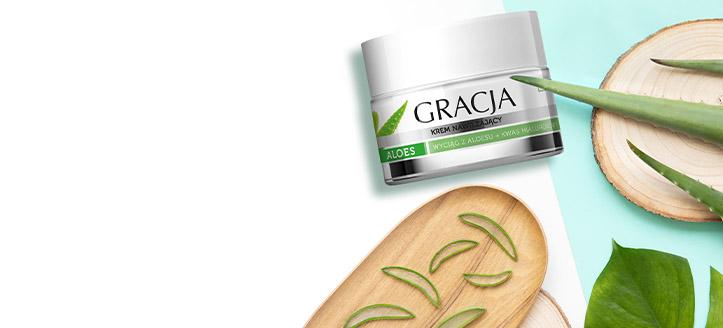 Получите в подарок увлажняющий крем, при покупке товаров Gracja на сумму от 153 MDL