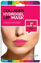 Parfumuri și produse cosmetice Mască cu colagen pentru buze - Beauty Face 3D Push-Up Collagen Hydrogel Lip Mask