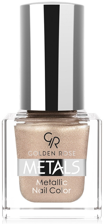 Lac de unghii - Golden Rose Metals Metallic Nail Color