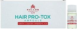 Parfumuri și produse cosmetice Fiole pentru păr slăbit și deteriorat - Kallos Cosmetics Pro-Tox Hair Ampoule
