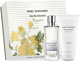 Parfumuri și produse cosmetice Angel Schlesser Eau De Cologne Bergamota - Set (edc/100ml+shw/gel/150)