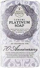 """Parfumuri și produse cosmetice Săpun """"Nutritiv"""" - Nesti Dante Luxury Platinum Soap 70th Anniversary"""
