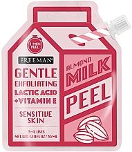 Parfumuri și produse cosmetice Peeling cu lapte de migdale pentru față - Freeman Almond Milk Peel