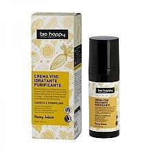 Parfumuri și produse cosmetice Cremă cu ulei esențial de morcovi și grapefruit pentru față - Bio Happy Face Cream