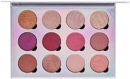Parfumuri și produse cosmetice Paletă farduri magnetice pentru pleoape - Pur Extreme Visionary 12-Piece Magnetic Eyeshadow Palette