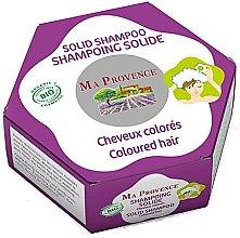 Parfumuri și produse cosmetice Bio-șampon tare pentru păr vopsit - Ma Provence Solid Shampoo