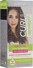 Cremă-gel de păr pentru vârfuri - Kativa Keep Curl Superfruit Active — Imagine N1
