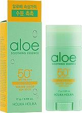 Parfumuri și produse cosmetice Stick corector pentru protecție solară - Holika Holika Aloe Soothing Essence Water Drop Sun Stick SPF50+