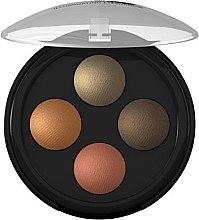 Parfumuri și produse cosmetice Fard de pleoape - Lavera Illuminating Eyeshadow Quattro