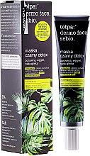 Parfumuri și produse cosmetice Mască pentru față Detox - Tolpa Dermo Face Sebio Black Detox Mask