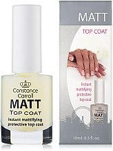 Parfumuri și produse cosmetice Fixator de uscare pentru unghii - Constance Carroll Matt