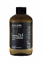 Духи, Парфюмерия, косметика Gel de duș și șampon 2 în 1 pentru bărbați - Ecolatier Urban Energy