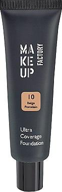 Fond de ten - Make up Factory Ultra Coverage Foundation — Imagine N1