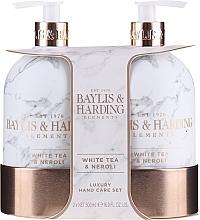 Parfumuri și produse cosmetice Set - Baylis & Harding White Tea & Neroli Hand Care Set (soap/500ml + h/b/lotion/500ml)